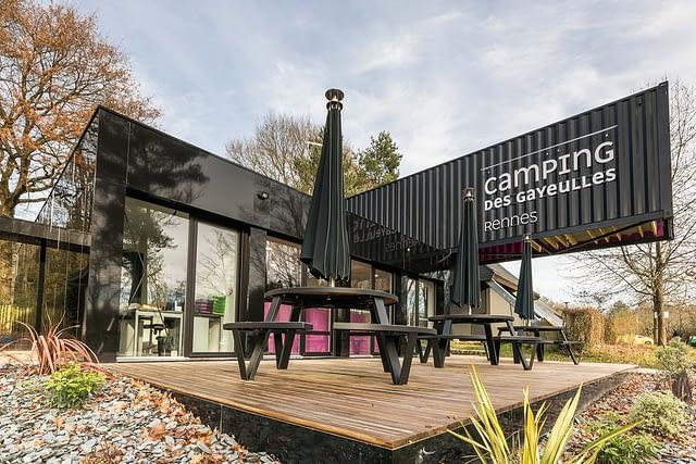 Camping des Gayeulles, réception ©Simon Bourcier